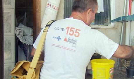 Cambuquira vive epidemia de dengue no município (Foto: Reprodução EPTV)