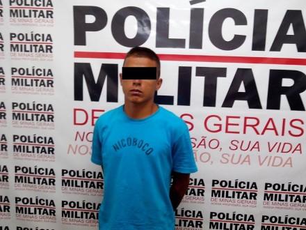 Wellington Elias Brito foi preso pela polícia por tráfico de drogas