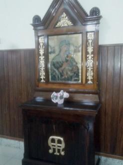 Peça foi restaurada por artista lavrense