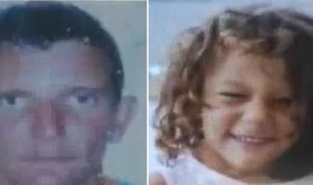 José Florêncio de Pontes, de 42 anos, e a filha Izadora Gomes de Pontes, de cinco anos, foram mortos a tiros Record Minas