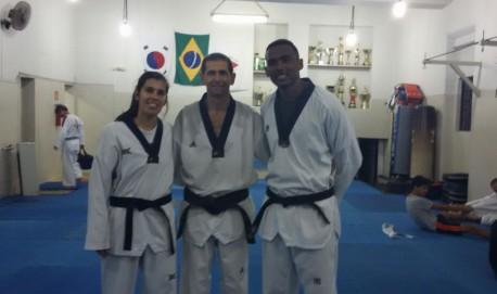 Mariela de Abreu, Mestre Valdeci e  João Gilberto Gaspar