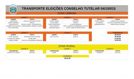 Transporte-Eleições-Conselho