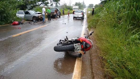 Motociclista morreu próximo a Nepomuceno.