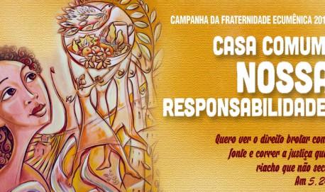 Lema e tema da Campanha da Fraternidade 2016 CNBB/Divulgação