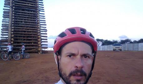 O ciclista Hernani Costa Neto/Reprodução Facebook