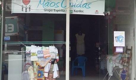 Bazar está localizado na rua Santana no Centro de Lavras