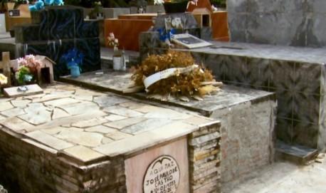 Falta de espaço em cemitério gera reclamações de moradores em São Tomé das Letras (Foto: Reprodução EPTV)