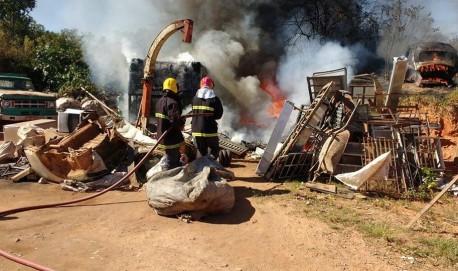 Fotos: Bombeiros de Lavras