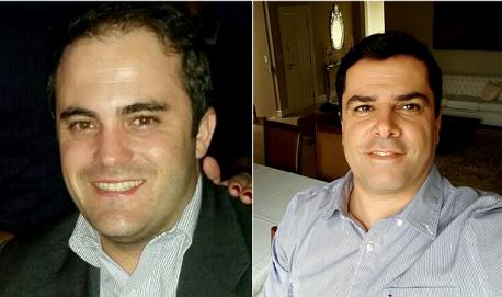 Os pré-candidatos a prefeito Leandro Moretti (PRB) e o médico urologista José Cherem (PSD)