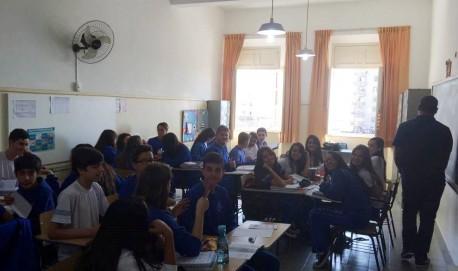 Alunos do Colégio Nossa Senhora de Lourdes integram o projeto.