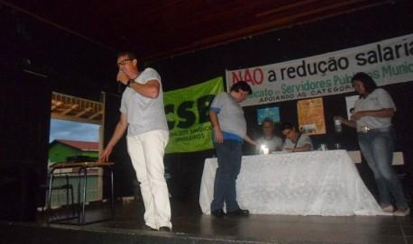 O Sindicato dos Servidores Públicos Municipais de Lavras realizou assembleia para discutir proposta do prefeito essa semana.