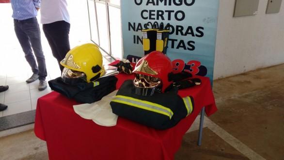 Equipamentos de última geração ajudará no combate a incêndios e resgate de vítimas de acidente.