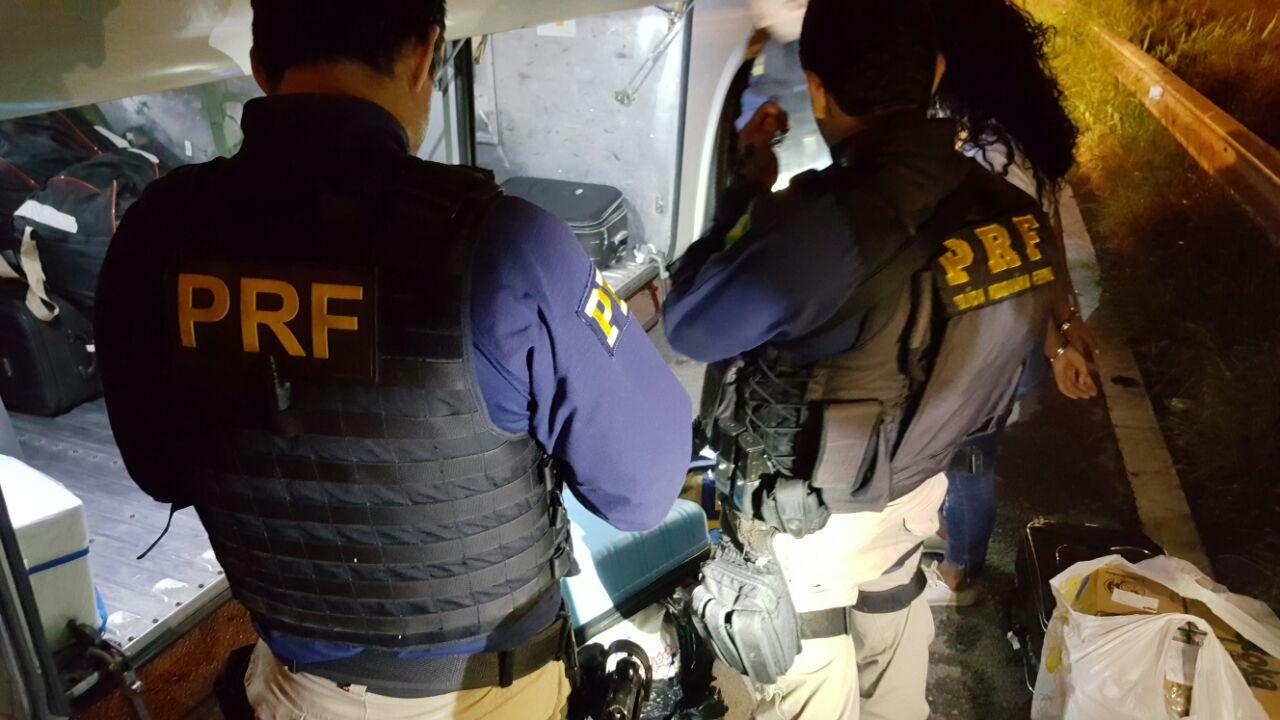 Fotos Polícia Rodoviária Federal.