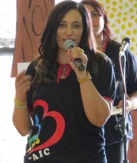 Atual diretora do CAIC Denise Ribeiro