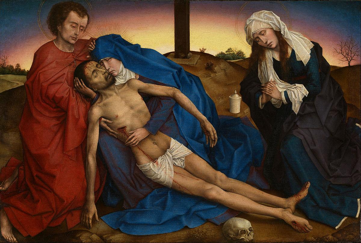 Pietà de Brusel·les (Van der Weyden) .