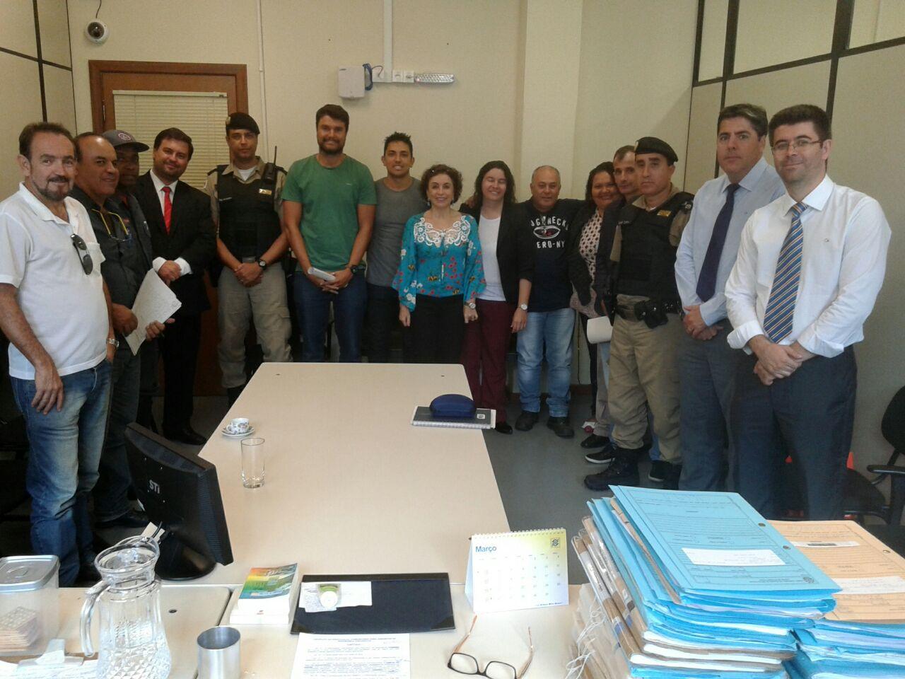 Entidades estiveram reunidas para a criação da Associação Lavrense para Assuntos de Segurança Pública.
