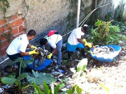 Agentes de endemias. Foto: Divulgação Prefeitura Municipal de Lavras