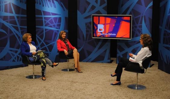O programa foi ao ar nesta terça-feira(12). A Deputada Damina falou sobre a participação feminina na Câmara e a importância da Reforma Política