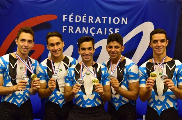 Maelton, Christian, Marcelo, Edson e José Henrique