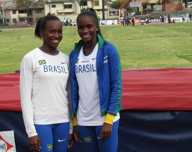 Jenifer Nicole também foi vice-campeã no salto em altura, com a marca de 1,81m.