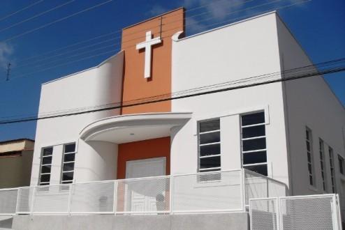 Igreja Matriz de Nossa Senhora de Fátima no bairro Nova Lavras. Foto extraída do site da Paróquia.