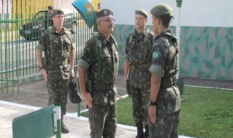 Comandante da 4ª Região Militar visita TG-04-031. - Fotos: Atirador Tavares e ST Meireles